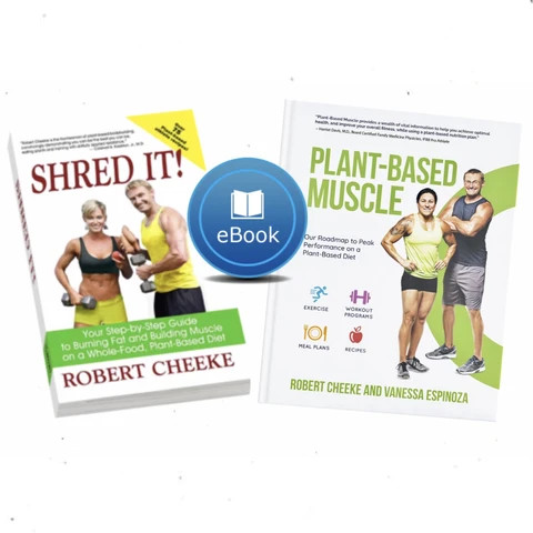 Plant-Based Muscle and more books by Robert Cheeke